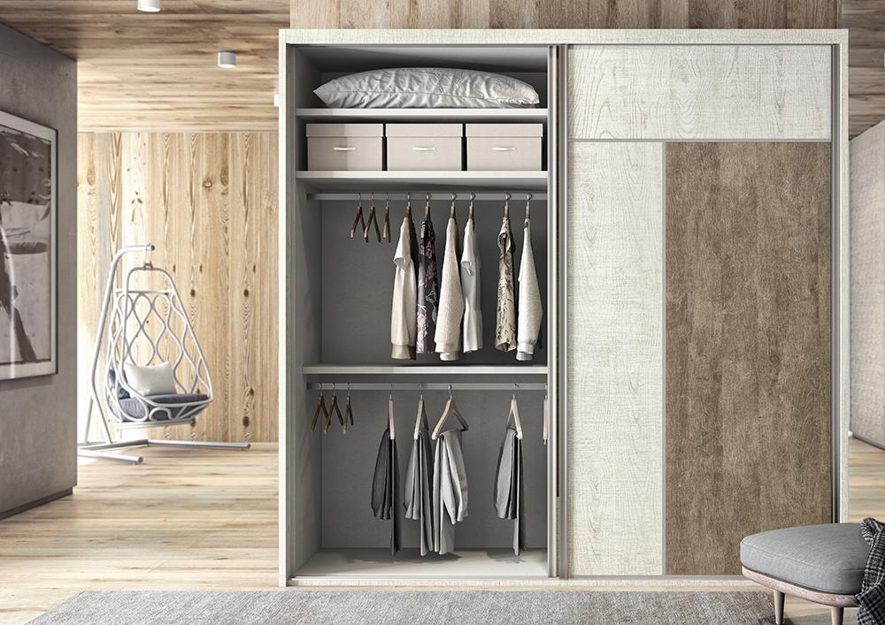 Armarios dormitorios de matrimonio habitaciones - Distribuciones de armarios ...
