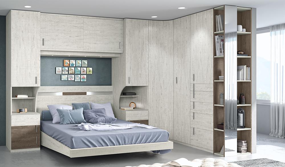 Armarios dormitorios de matrimonio habitaciones for Muebles de habitacion de matrimonio modernos