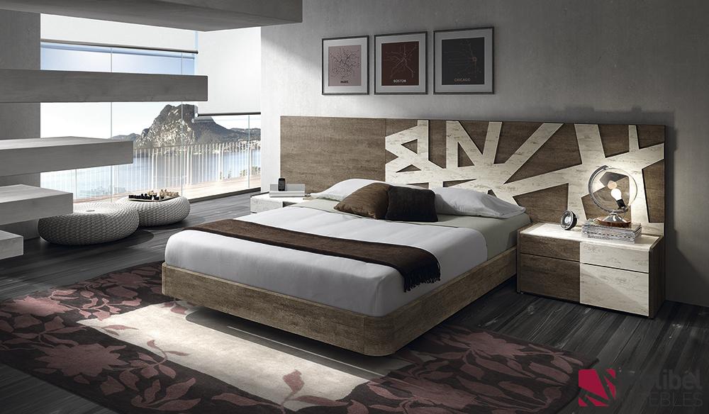 Dormitorios y armarios emociones dormitorios de for Medidas dormitorio matrimonio
